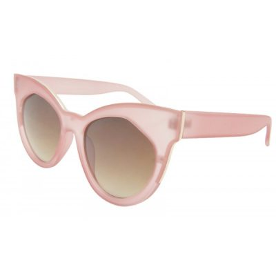 pink large cat-eye sunglasses